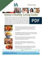 Konia Healthy Living Guide