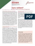 Perspektiven 1 2012 Wie Den Euro Retten