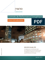 Contrats de Performance Energétique