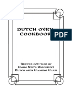 Dutch Owen Cookbook