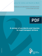 Road Transport Accidents