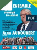 Programme de la liste d'Alain Audoubert