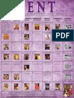 2014 Lenten Calendar - EO Purple