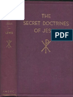 The Secret Doctrines of Jesus 1937 First Edition