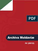 Archiva Moldaviae IV-2012 Promo
