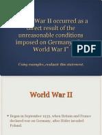world war ii essay 2013