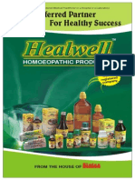 Healwell Homoeopathic Medicine Products