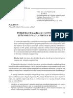 Refik Bulić - Porijeklo ekavizma u govorima tešanjsko-maglajskog kraja