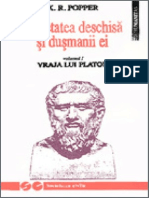 Karl Raimund Popper - Vraja Lui Platon i