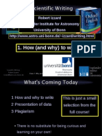 ScientificWriting Howto