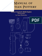 A Manual of Egyptian Pottery. Vol 2. Naqada III-middle Kingdom