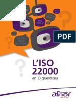 Livret 10 Questions ISO22000