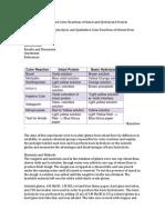 Isolation of Gluten Formal Report