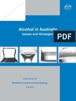 Alcohol_strategy_back, Australian Department of Health