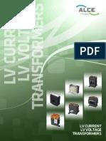 4 ALCE Low Voltage Transformers 13R01