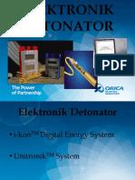 Elektronik Detonator