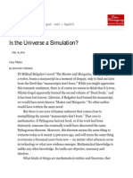Is the Universe a Simulation_ - NYTimes