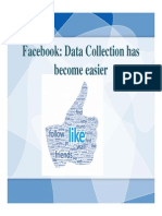 Marketing Research- Facebook for Data Collection