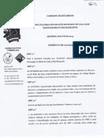Caderno de Encargos referente à Consulta para Decoração do Baile de Gala das Faculdades e Chá Dançante