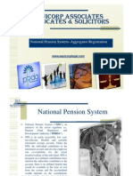 National Pension Scheme & Aggregator Registration Under PFRDA