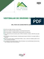 Prova Uftm 2012 Sem2 Conhec Gerais v1