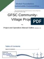 GFSC Community-Village Project - Project Skeleton