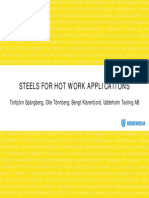 Steels for Hot Work Applications