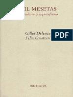 Deleuze y Guattari Mil Mesetas Introduccion