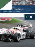 Bosch MotorSport Catalog F3_Katalog_2013