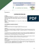 Contrat de Travail Def.