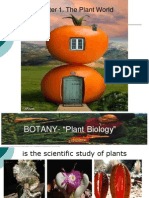 Botany Lecture - Chapter 1