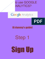 Fivemay_Huervas_How to Use Google Analytics