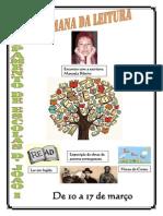 Cartaz Semana Leitura 2014
