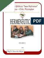 6. Hermeneutica II