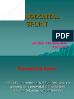 Kuliah Periodontal Splint