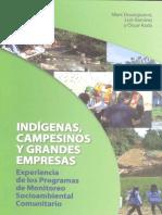 Indigenas Campesinos y Gandes Empresas Marcc Dourojeanni,Luis Ramírez y Oscar Rada-ProNaturaleza