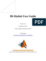 IB-Matlab User Guide