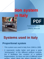 Election System in Italy (2)