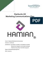Starbucks Communication Marketing Plan