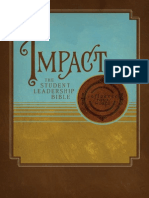 Impact Student Leadership Bible, NKJV
