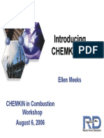Introducing CHEMKIN