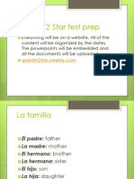 spanish 2 star possessives and family-- 0224