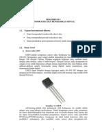 Akuisi Data ( Sensor Suhu Dan Pengkondisi Sinyal )