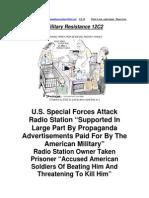 Military Resistance 12C2 World Class Stupid