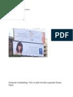 Marketing Communication in FMCG