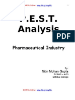 Pest Analysis of Pharma Industry