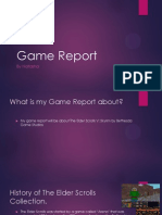 game report