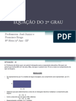 EQUAÇÃO DO 2 ° GRAU 2