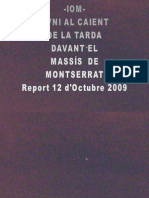 -IOM- OVNI AL CAIENT DE LA TARDA DAVANT EL MASSÍS DE MONTSERRAT- Report 12 d'Octubre 2009Presentación1