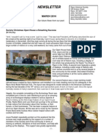 March 2014 Ripon Historical Society Newsletter